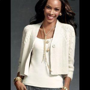 CAbi | Embrace Cable Knit Cardigan Sweater